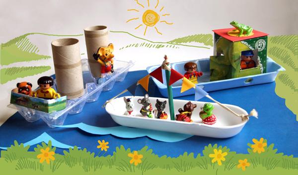 Поделка кораблик детский сад 94