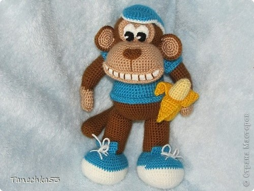 Папье маше обезьяна своими руками