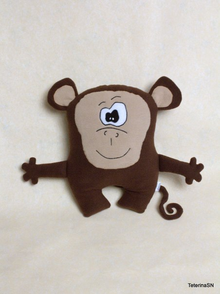 Выкройка обезьяна символ 2016 года своими руками