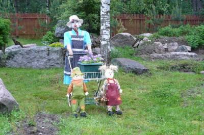 Поделки для сада дачи огорода своими