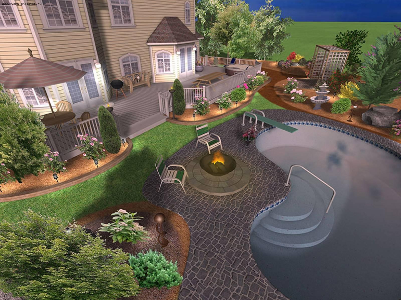 Ландшафтный дизайн в онлайн